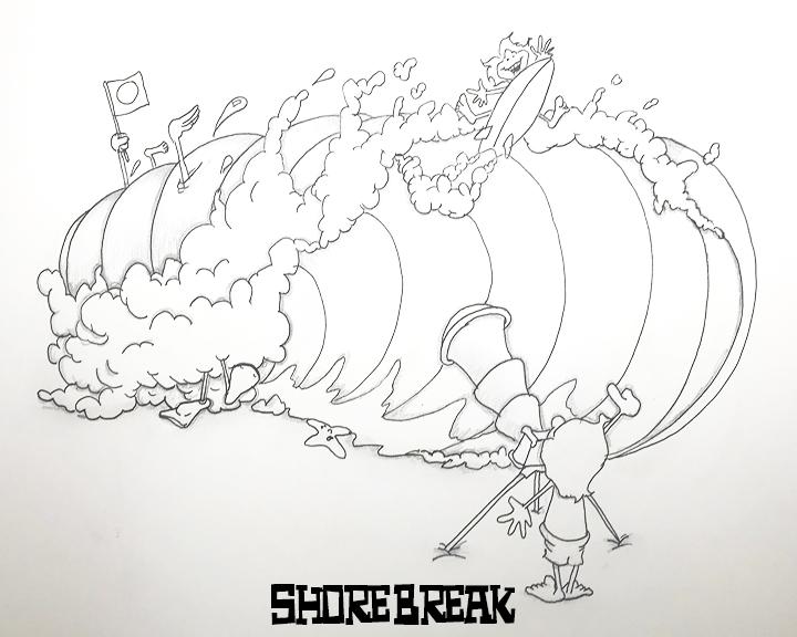 shore break copy